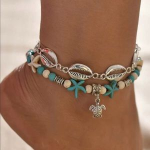 Turquoise Beach Anklet